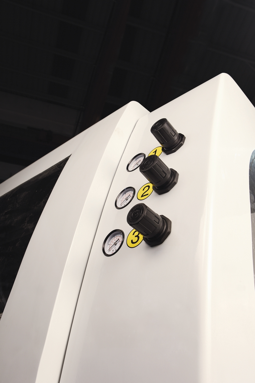 Четырехсторонний станок Beaver 620, три независимых пневматических регулятора