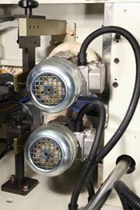 Кромкооблицовочный станок Filato FL-130, полировальный узел