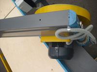 Торцовочный станок ЦТ10-4, возможность поворота пильного узла
