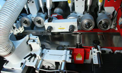 Четырехсторонний станок Beaver 620, приводные верхние рифленые ролики