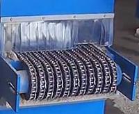 Механизм подачи заготовки двухвального многопильного станка WD-170KBA, WD-220KBA