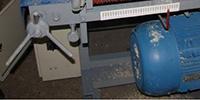 Регулировка пилы кромкообрезного станка ДКО-55М