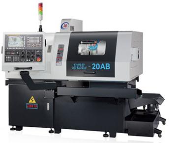 Автомат продольного точения с противошпинделем JINN FA. Модель JSL-20AВ