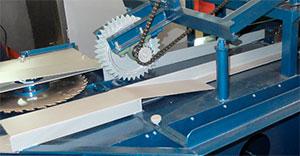 Расклинивающие ножи станка для переработки горбыля GR-3