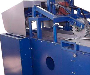 Аспирационные патрубки станка для переработки горбыля GR-3