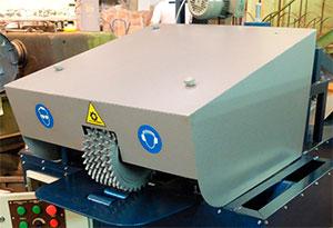 Защитный кожух станка для переработки горбыля GR-3
