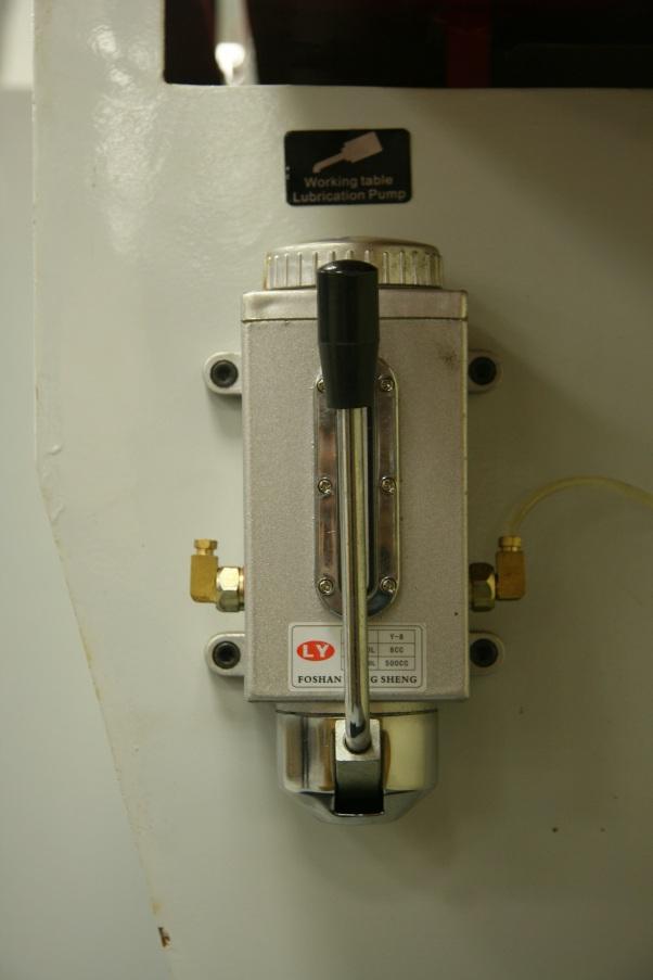 Четырехсторонний станок Beaver 620, централизованная система смазки