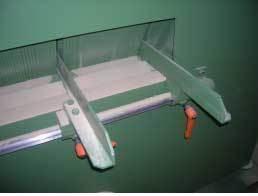 Многопильный дисковый станок HNS, когтевая защита