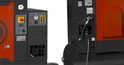 Винтовой компрессор CPN, Встроенный осушитель рефрижераторного типа