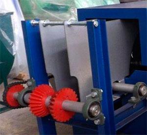 Расклинивающие ножи бревнопильного станка для распиловки бревен СПР-320К-М