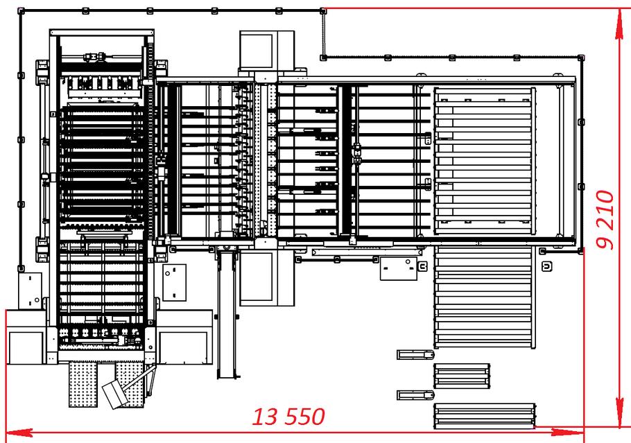 Угловой форматно-раскроечный центр с ЧПУ Filato NKL-3318