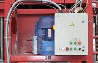 Пульт управления горизонтальной дисковой пилорамы Tiger GS-600