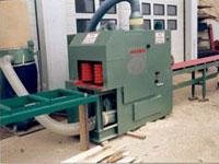 Брусовальный станок SDH 37-2 / 55-2, система удаления опилок
