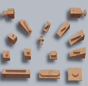 Шипорезный станок для овального шипа YRT-115, образцы получаемых изделий