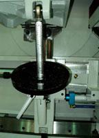 Шипорезный станок для овального шипа YRT-115, наклон столов в вертикальной плоскости