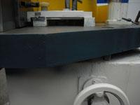 Фрезерный станок с шипорезной кареткой ФСШ-1А (К), цельнолитые рабочий стол и станина станка