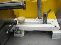 Фрезерный станок с шипорезной кареткой ФСШ-1А (К), точная настройка направляющих