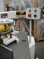 Фрезерный станок с шипорезной кареткой ФСШ-1А (К), для удобства работы оператора предусмотрен выносной пульт управления