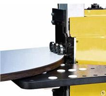 Станок для облицовывания криволинейных мебельных деталей «GELIOS», фрезерный узел