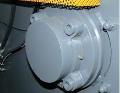 Шредер для измельчения древесных отходов LR700 (Австрия), роторный подшипник