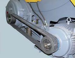 Шредер для измельчения древесных отходов LR700 (Австрия), приводной механизм