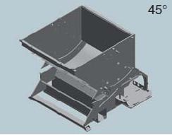 Шредер для измельчения древесных отходов LR1000 (Австрия), корпус станка
