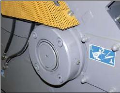 Шредер для измельчения древесных отходов LR1000 (Австрия), роторный подшипник