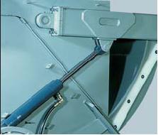 Шредер для измельчения отходов LR1400 (Австрия), толкатель