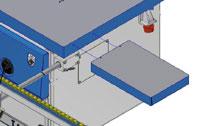 Фрезерный станок с шипорезной кареткой Т1005 TR-PL, правое удлинение рабочего стола