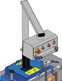 Фрезерный станок с шипорезной кареткой Т1005 TR-PL, выносной пульт управления