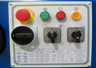 Комбинированные станки К5-32, К5-41, эргономичный пульт управления