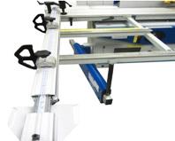 Комбинированные станки К5-32, К5-41, на каретке предусмотрен стол для обработки листовых щитовых или рамных деталей