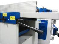 Комбинированные станки К5-32, К5-41, толщина сьема при фуговании регулируется удобным рычагом