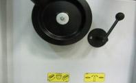 Комбинированные станки К5-32, К5-41, маховик подьема опускания стола рейсмуса