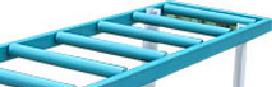 капролоновые втулки для крепления роликов роликового стола мод. РН 2-500 С