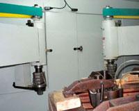 Копировально-фрезерный QUADRO LH-60-4PS, LH-80-4PS, LH-100-4PS, LH-120-4PS - Редактирование, станки оснащены 2-мя фрезерными узлами