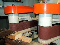 Копировально-фрезерный QUADRO LH-60-4PS, LH-80-4PS, LH-100-4PS, LH-120-4PS - Редактирование, станки оснащены 2-мя шлифовальными узлами