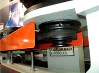 Копировально-фрезерный QUADRO LH-60-4PS, LH-80-4PS, LH-100-4PS, LH-120-4PS - Редактирование, скорость шлифовальной ленты удобно изменять с помощью ремней