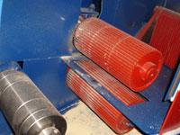 подающие вальцы многопильного станка ДК-80
