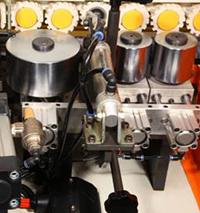 Кромкооблицовочный станок Filato FL-130, пресс группа