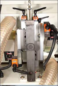 Кромкооблицовочный станок Filato FL-130, фрезерный узел