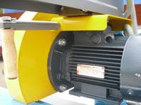 Торцовочный станок ЦТ10-4, привод пилы от двигателя