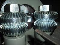 Круглопалочный станок FS-60, рифленые вальцы подачи