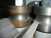 Круглопалочный станок FS-60, гладкие приводные вальцы