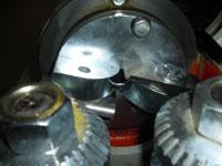 Круглопалочный станок FS-60, ножевая головка с двумя ножами