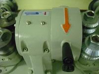 Круглопалочный станок FS-60, расположение ножевой головки в защитном кожухе
