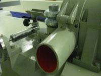 Круглопалочный станок FS-60, удаление стружки производится при помощи пылеудавливающего агрегата через аспирационное отверствие