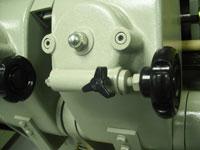 Круглошлифовальный одноленточный станок FS- 80B, скорость подачи на станке
