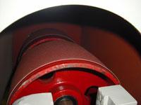 Круглошлифовальный двухленточный станок FS-80B2, литые валы