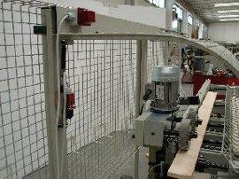 Высокоскоростная торцовочная линия TRV1200S, 1200E, Автоматическая загрузочная станция с разметочными столами